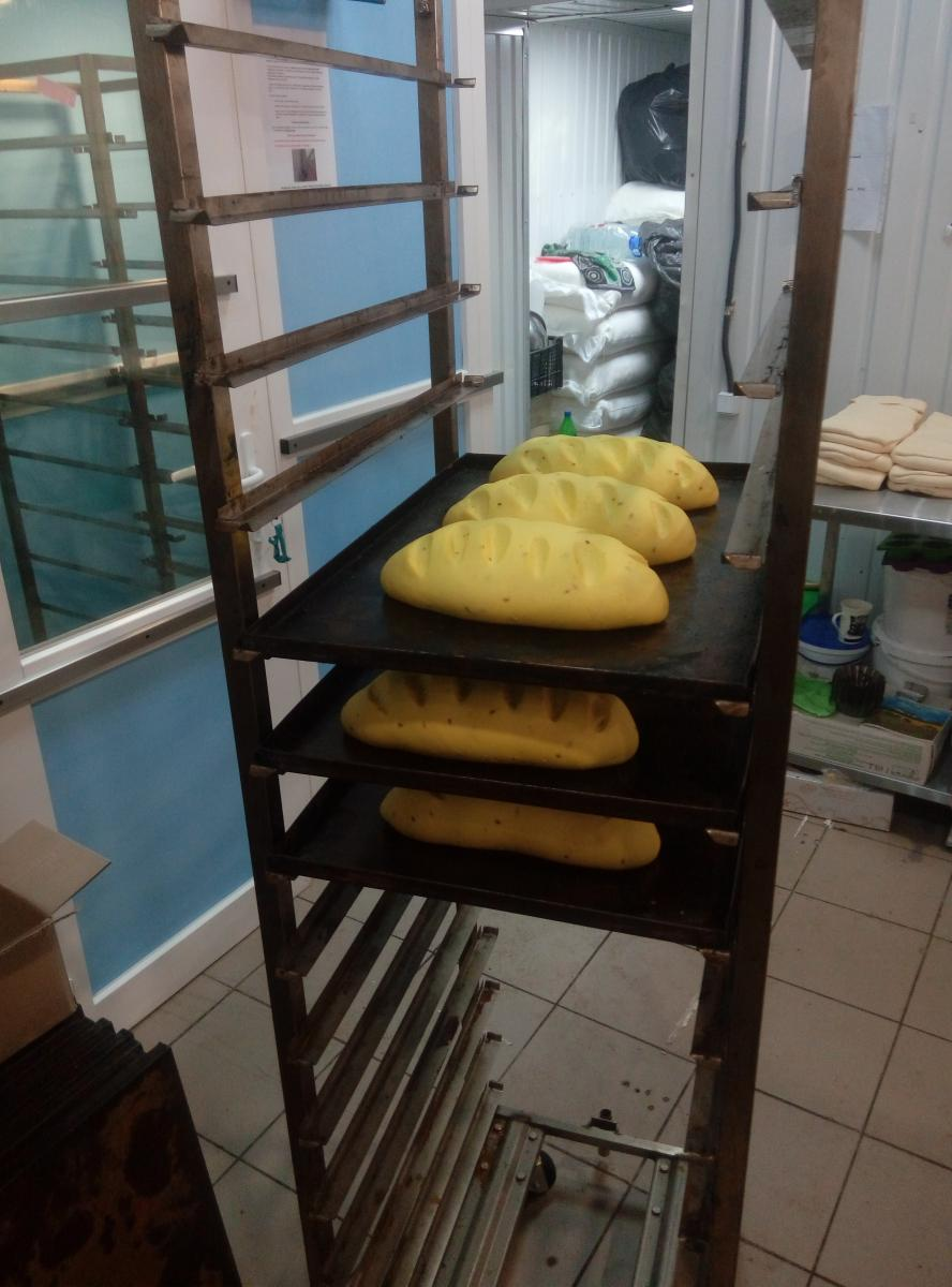 хлеб из расстойки Q&R