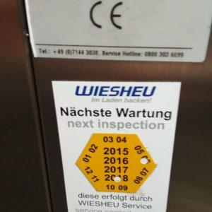 Печь конвекционная Wiesheu B5+B10