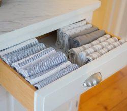Вертикальное хранение текстиля